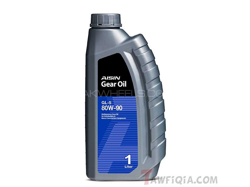 AISIN Gear Oil 80W-90 GL5 Semi Synthetic - 1 Litre Image-1