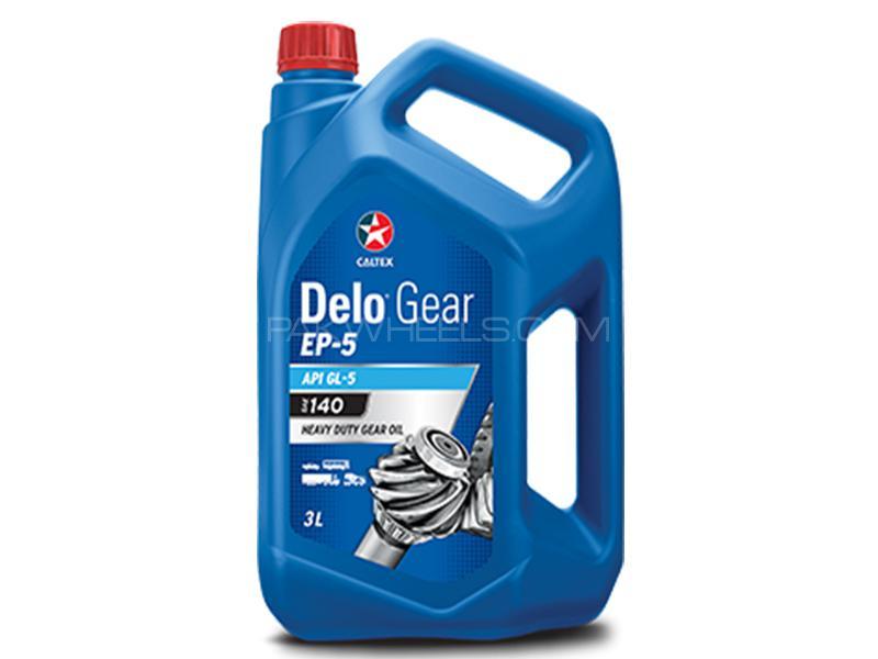 Caltex Delo Gear EP-5 140 - 3 Litre Image-1