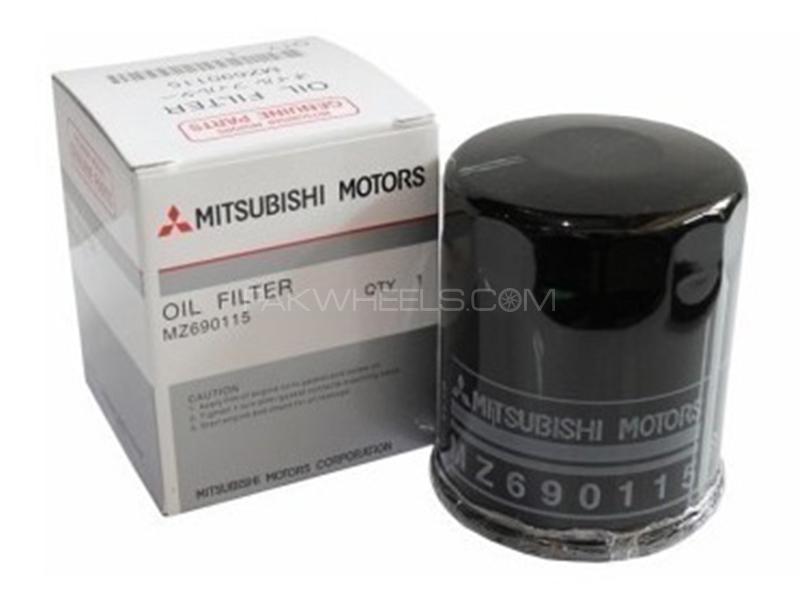 Mitsubishi Genuine Oil Filter For Mitsubishi Mini Pajero 1994-2002 MZ690115 Image-1