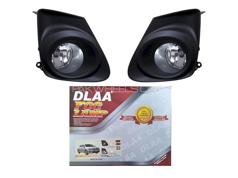 DLAA Fog Lights For Toyota Corolla 2011-2014 - TY422 Image-1