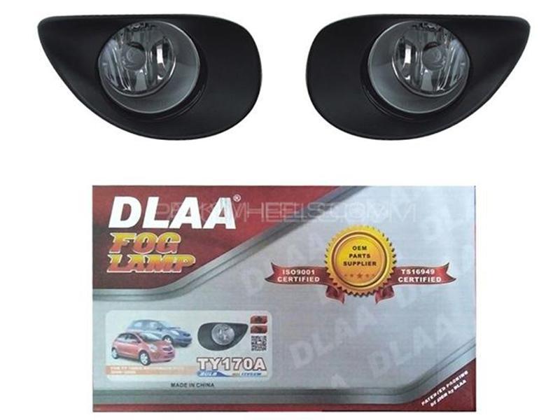 DLAA Fog Lights For Toyota Vitz 2006-2008 - TY170A Image-1
