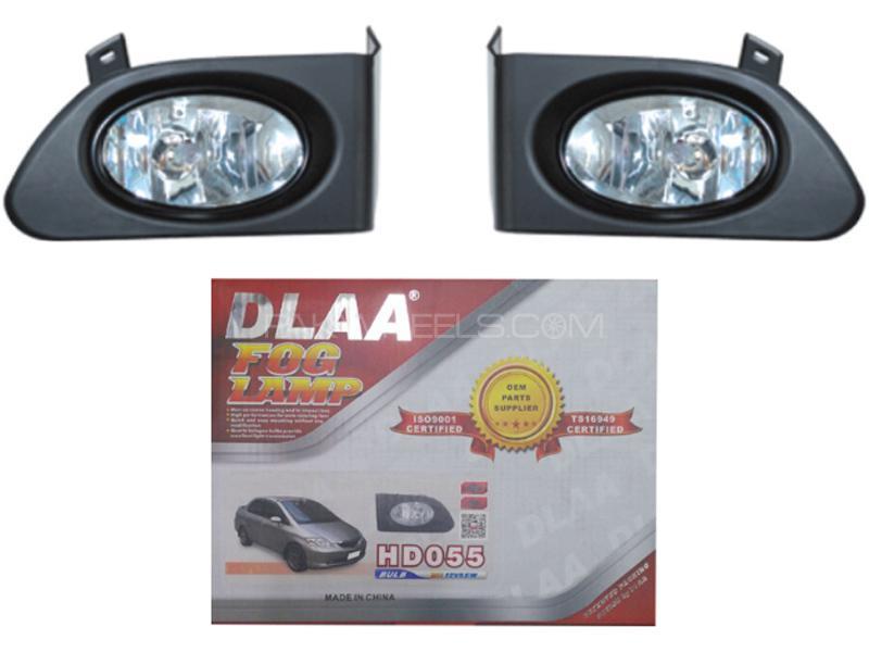 DLAA Fog Lights For Honda City 2003-2005 - HD055 in Karachi