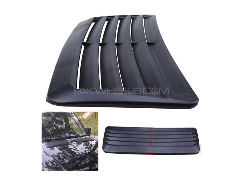 Universal Hood Scoop Vent for Bonnet Carbon Large in Lahore