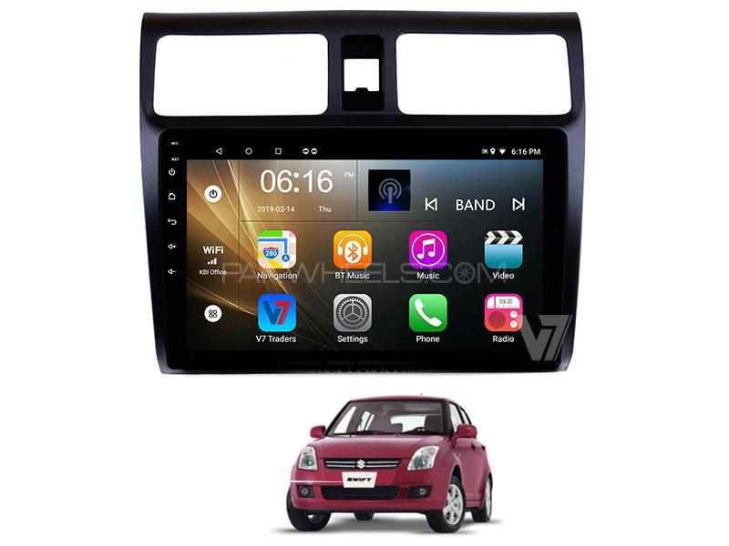 V7 Navigation 10″ Android Screen For Suzuki Swift Image-1