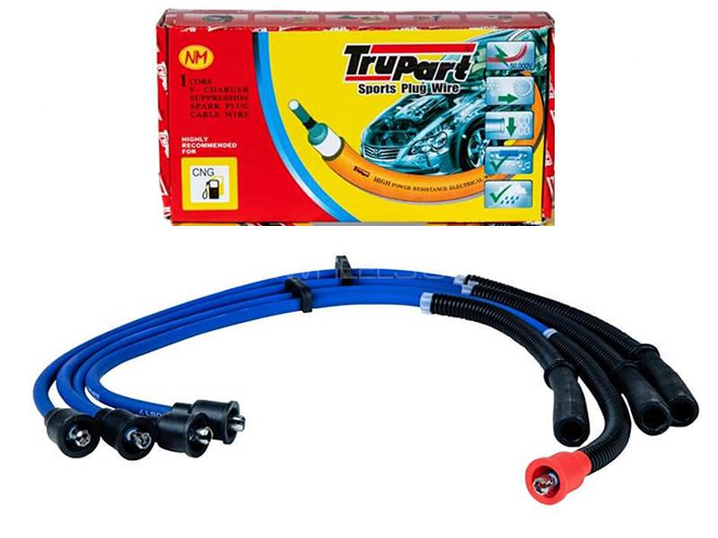 Trupart Sports Plug Wire For Daihatsu Cuore Old - PW-114 8mm Image-1