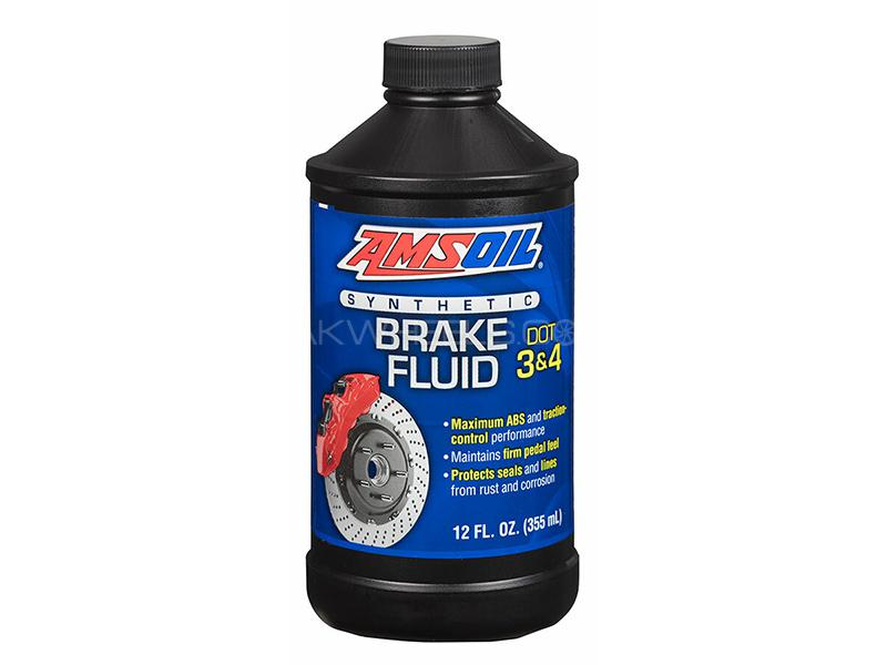 AMSOIL DOT 3 And  DOT 4 Brake Fluid - 355ml Image-1