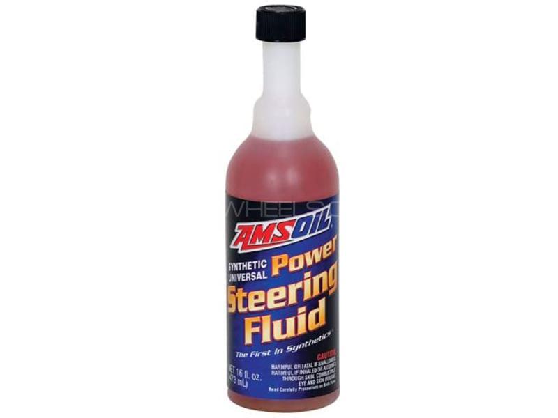 AMSOIL Power Steering Fluid - 473ml Image-1