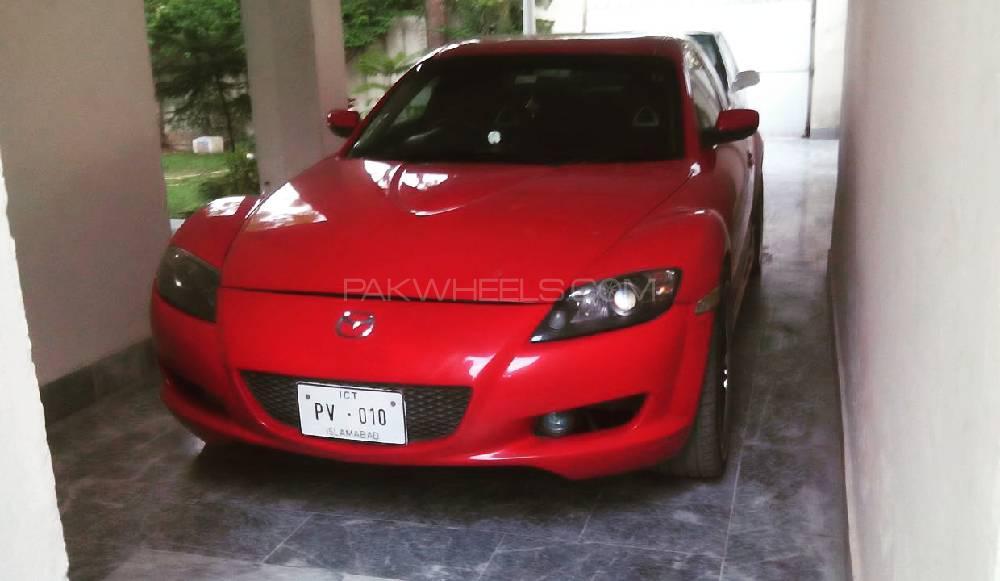 Mazda RX8 - 2004 chilli Image-1