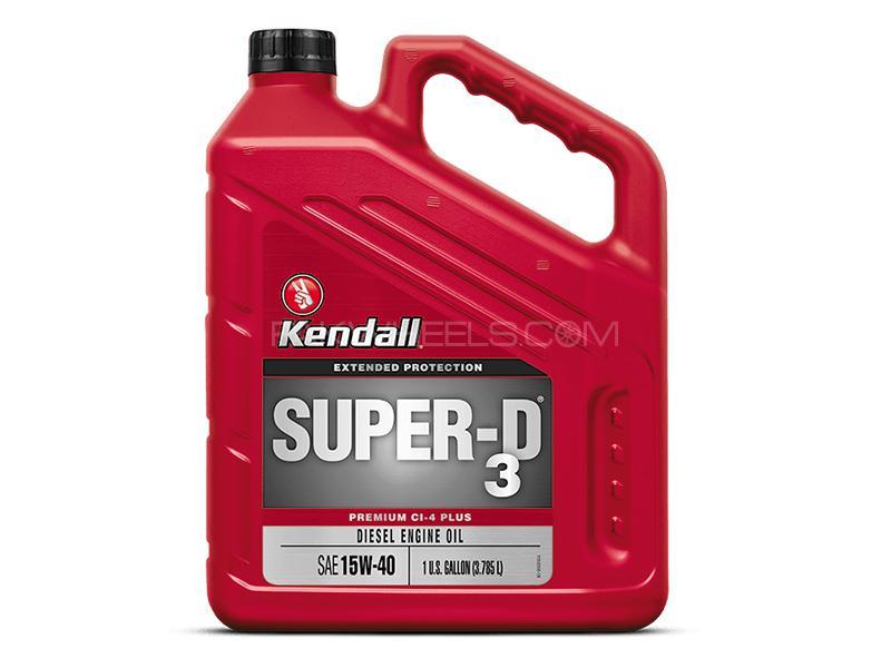 Kendall Diesel CL4 Plus 15W-40 - 5 Litre Image-1