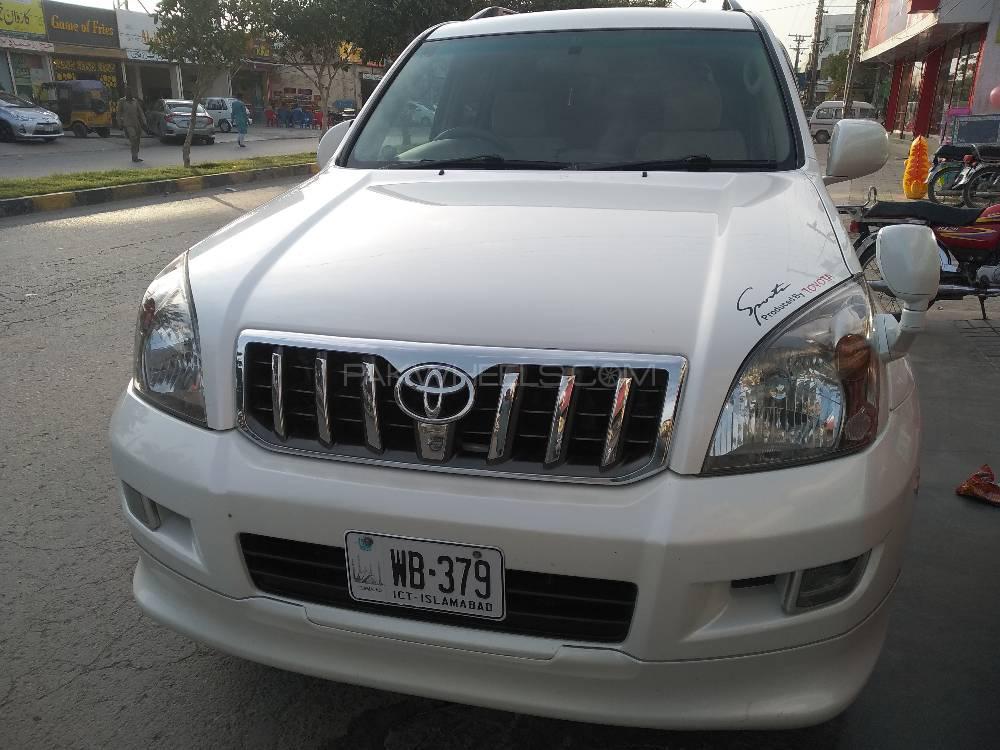 Toyota Prado TZ G 4.0 2007 Image-1