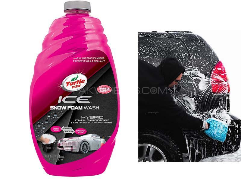 Turtle Wax Ice Snow Foam Hybrid Wash Shampoo 48oz Image-1