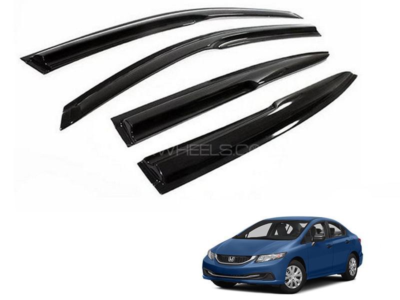 Honda Civic 2013-2015 Sun Visor Air Press - Black  Image-1