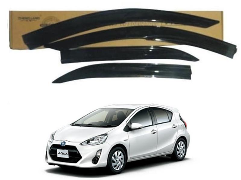 Toyota Aqua 2013-2019 Sun Visor Air Press - Black  Image-1
