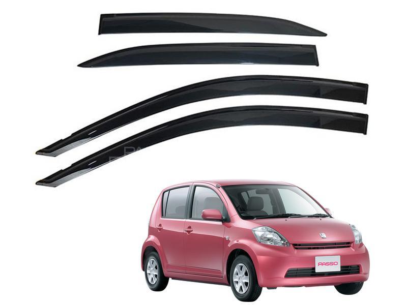 Toyota Passo 2000-2009 Sun Visor Air Press - Black  Image-1