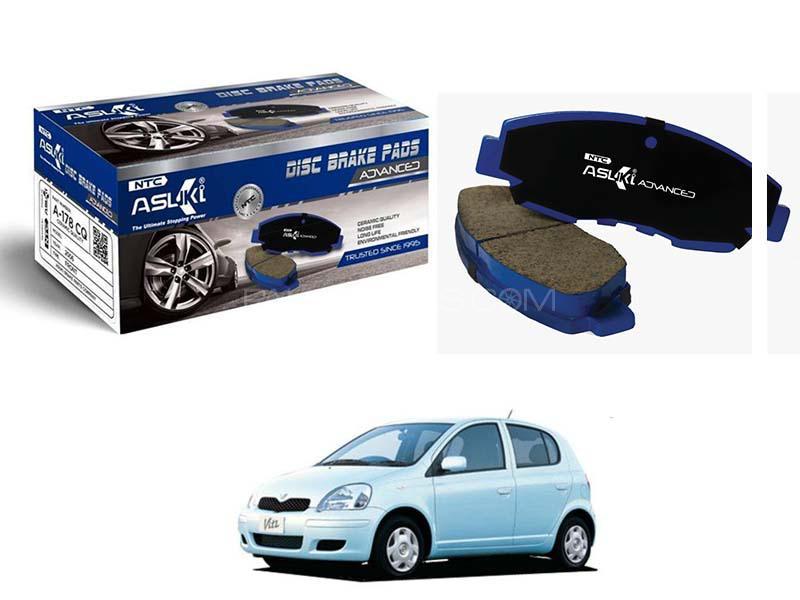 Toyota Vitz  2001-2005 Asuki Advanced Brake Pads Front - A-75 AD Image-1