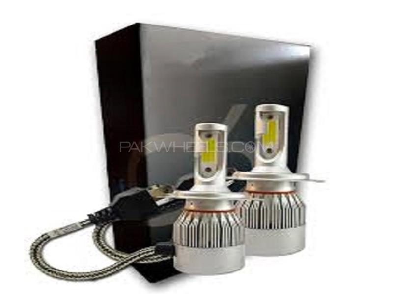 C6 LED For Headlight - 9005 Image-1