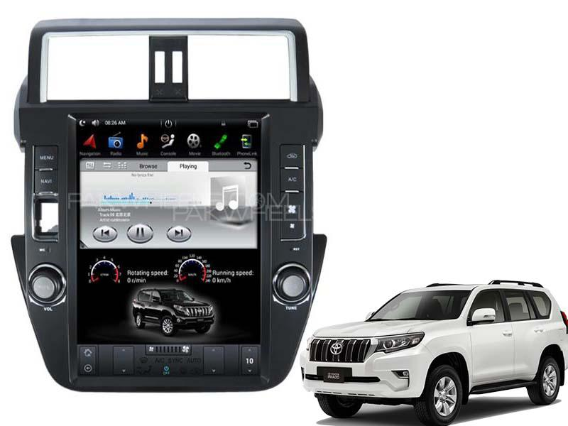 Tesla Style Android Unit For Toyota Land Cruiser Prado 2014-2015 in Lahore
