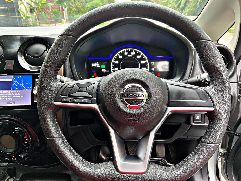 Nissan Note Medalist Model Year 2016 Import Year 2020 Silver Color  5 Camera's  Back View LED monitor  Multimedia Steering Wheel Radar Lane Departure Assist  Led Projection Lamps Alloy Wheels Brand New Tyres DVD TV