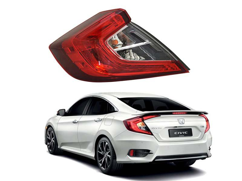 Honda Civic Genuine Back Light Outer Lh or Rh 1pc - 2016-2020  in Lahore
