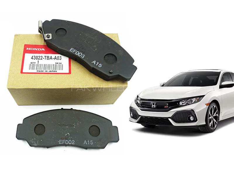 Honda Civic Genuine Rear Brake Pad For 2016-2020 - 43022-TBA-A03  Image-1