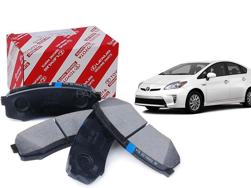 Toyota Prius 1.8 Genuine Front Brake Pad For 2009-2015 - 04465-47070 Image-1