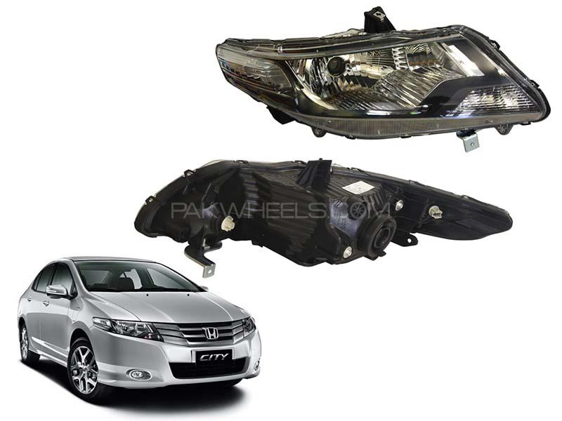 Honda City Genuine Front Head Light  2009-2020 - 1pc  Image-1