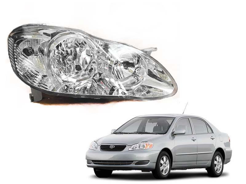 Toyota Corolla TYC Head Light Xli, Gli, Altis 2002-2008 Image-1