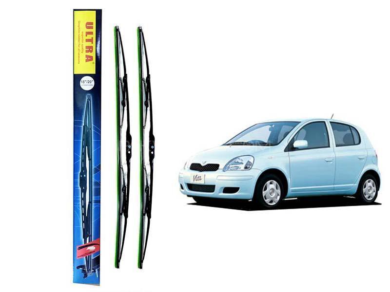 Toyota Vitz Ultra Wiper Blades Set For 2000-2004 in Karachi