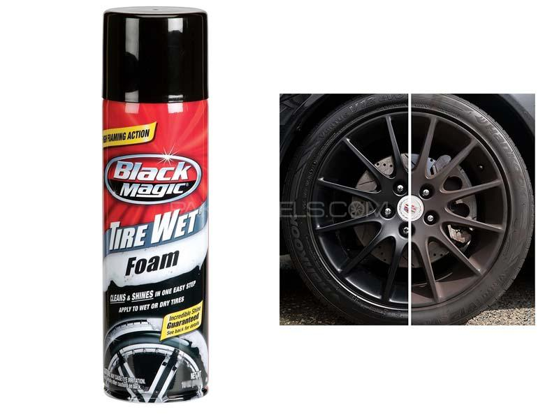 Black Magic Tire Wet Foam - 500ml in Lahore