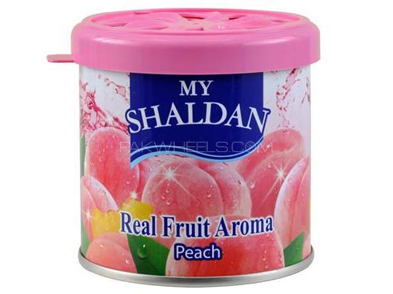 Shaldan Gel Perfume - Peach - Made In Thailand Image-1