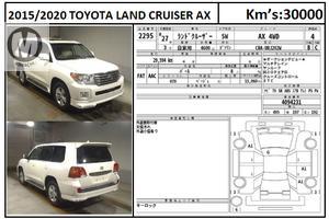 Used Toyota Land Cruiser AX 2015