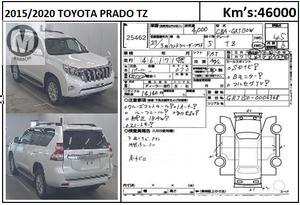 Used Toyota Prado TZ 4.0 2015