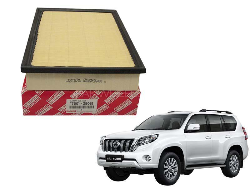Toyota Genuine Air Filter For Toyota Prado 2010-2016 - 17801-38051 Image-1
