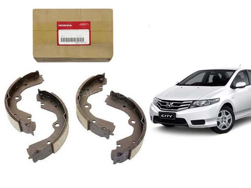 Honda City 2009-2020 Genuine Rear Brake Shoe 43153-SNA-A02 Image-1