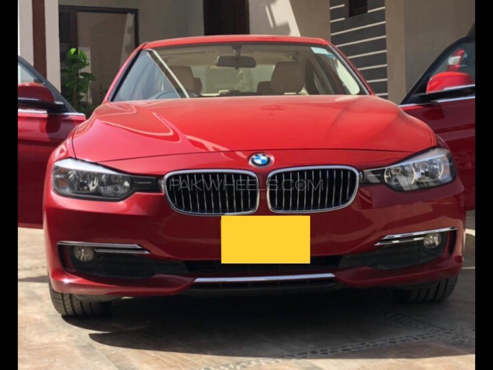 BMW / بی ایم ڈبلیو 3 سیریز 316i 2013 Image-1