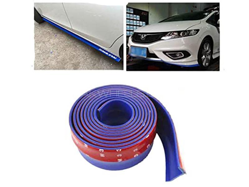 Universal Bumper Rubber Extension - Blue Image-1
