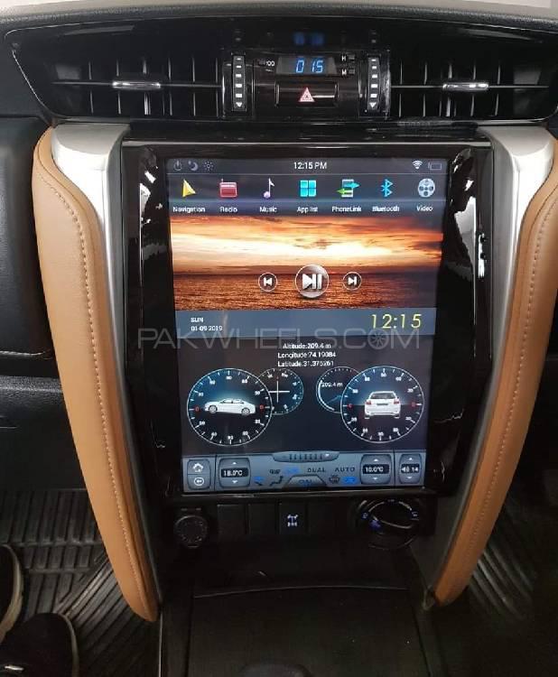 Toyota Fortuner Tesla Andriod Panel Image-1