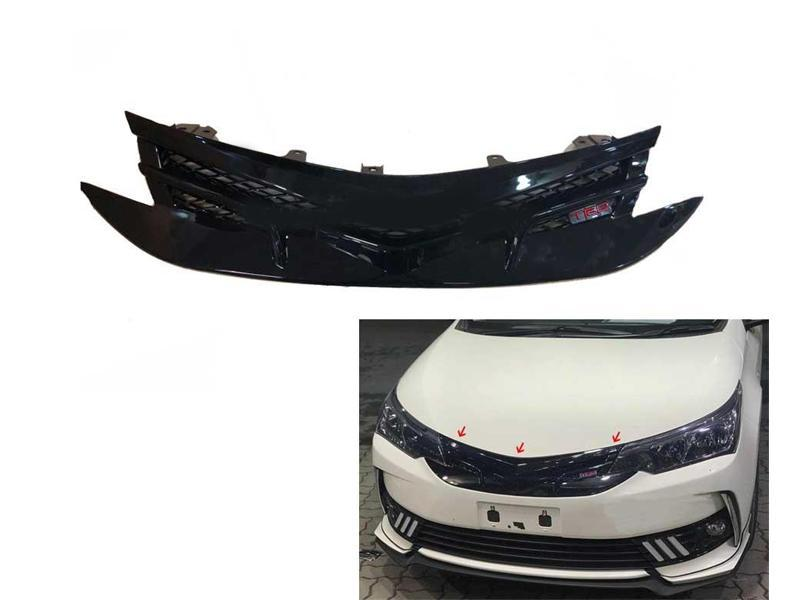 Toyota Corolla Front TRD Style Black shine Grill 2016-2020 in Lahore