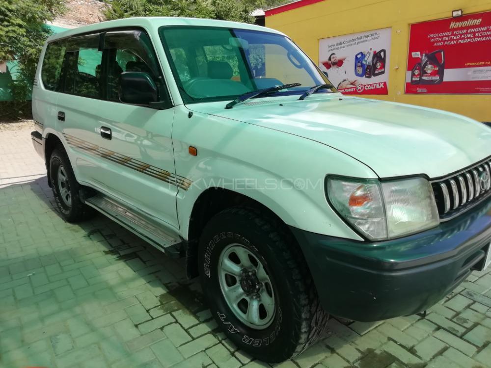Toyota Land Cruiser 1997 Image-1