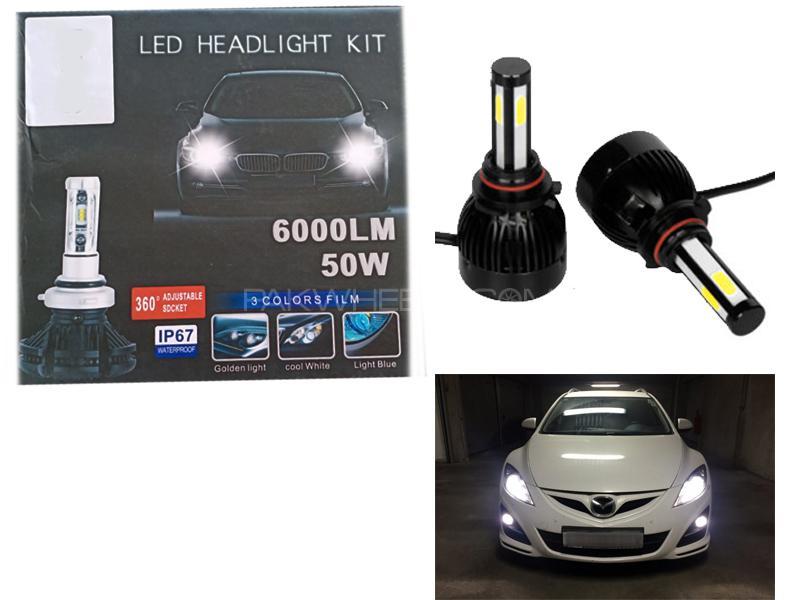 Led Headlight Kit 6000LM 50w-9005 Image-1