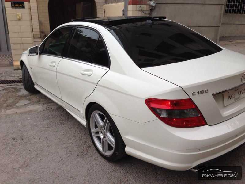 mercedes benz c class c180 cgi 2010 for sale in islamabad. Black Bedroom Furniture Sets. Home Design Ideas