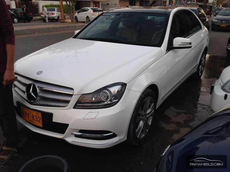 Mercedes benz c class c200 2013 for sale in karachi for 2013 mercedes benz c class c300