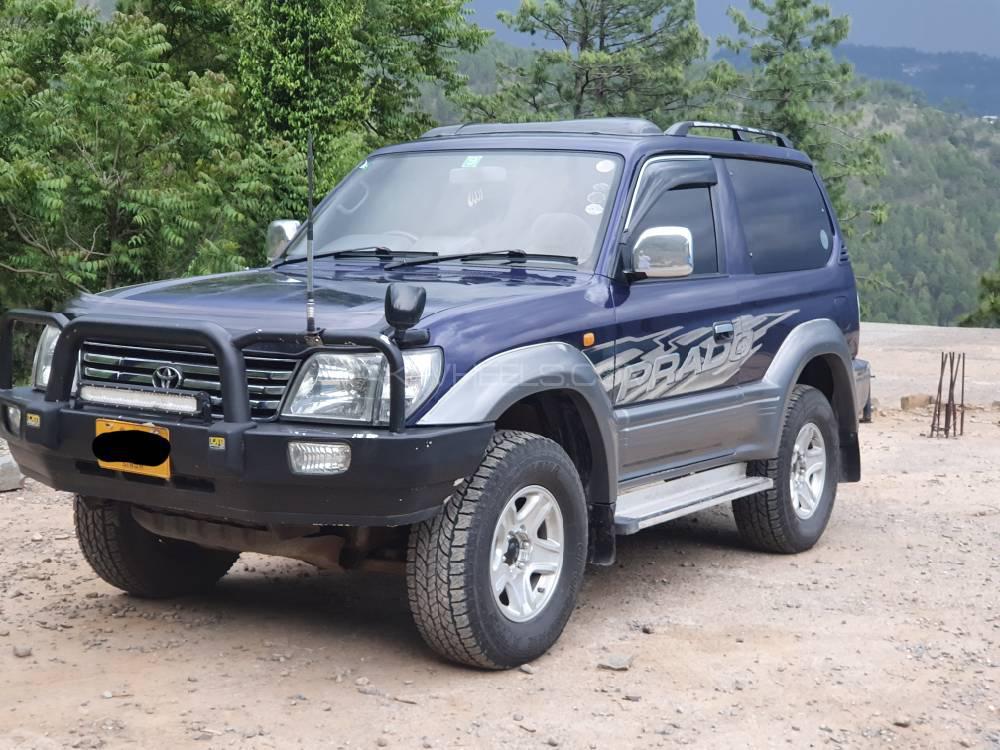 Toyota Prado RZ 3.0D (3-Door) 1997 Image-1