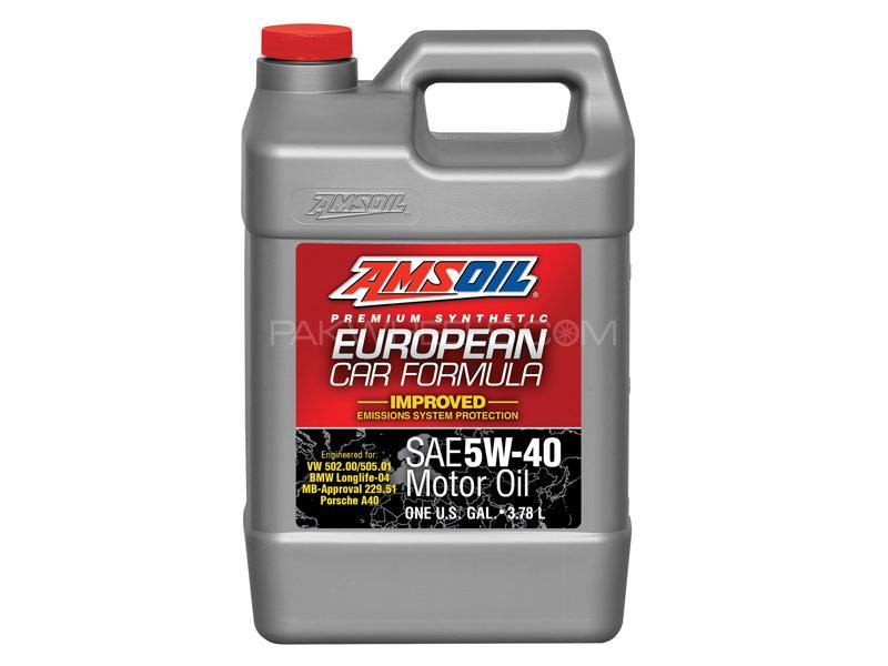 Amsoil 5w40 Esp European Car Synthetic Motor Oil - 3.784L Image-1