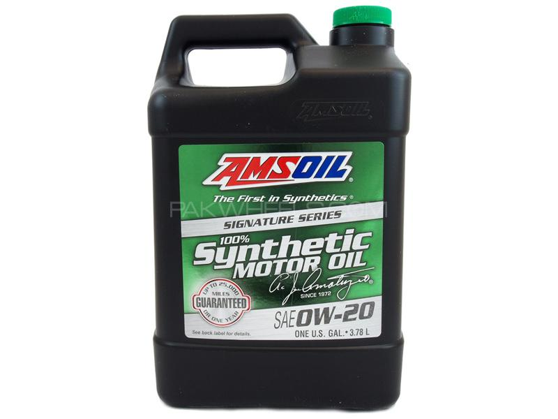 Asmoil Signature Series SN Plus 0W-20 Synthetic Motor Oil - 3.784L Image-1