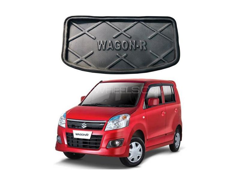 Suzuki Wagon R Trunk Mat Liner 2014-2020 Image-1