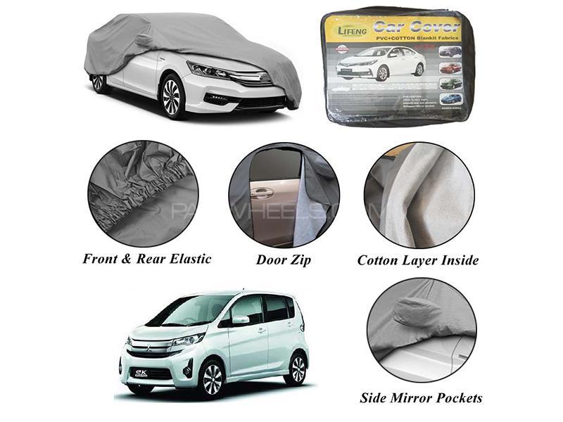 Mitsubishi EK Wagon 2013-2020 Non Wooven Inner Cotton Layer Car Top Cover  in Karachi