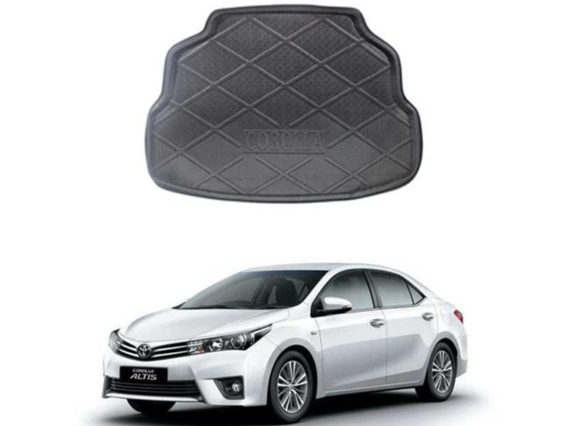 Toyota Corolla 2014-2020 Trunk Mat Image-1