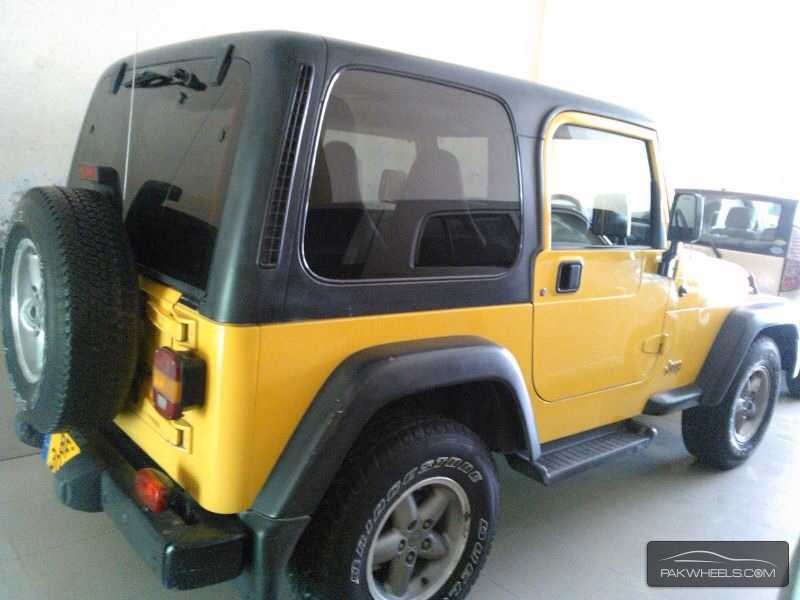 jeep wrangler 2002 for sale in lahore