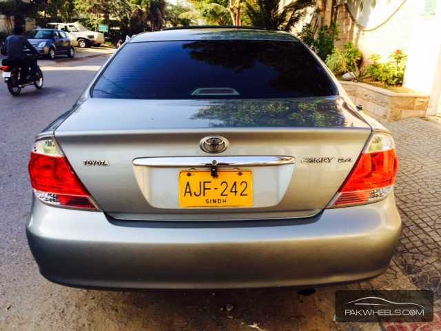 Toyota Camry UpSpec Automatic 24 2005 for sale in Karachi